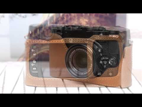 CIESTA FUJIFILM X20 Leather Case.wep