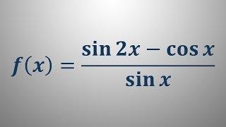 Odvod trigonometrične funkcije 11
