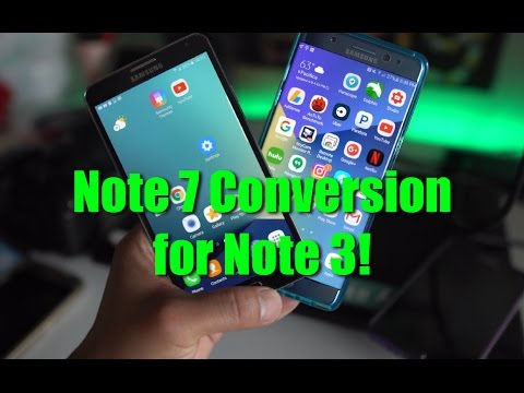 How to Convert Galaxy Note 3 into Note 7! [DarkLord ROM]
