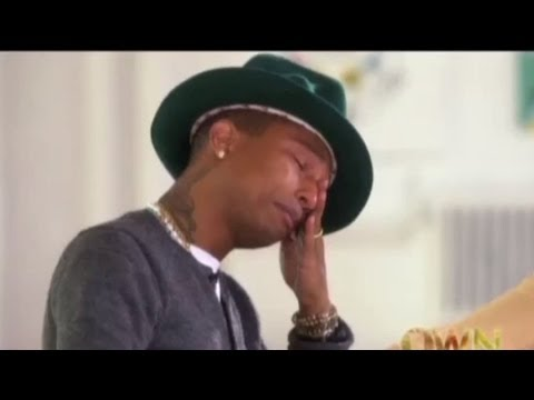 Pharrell Cries Watching People Dance to