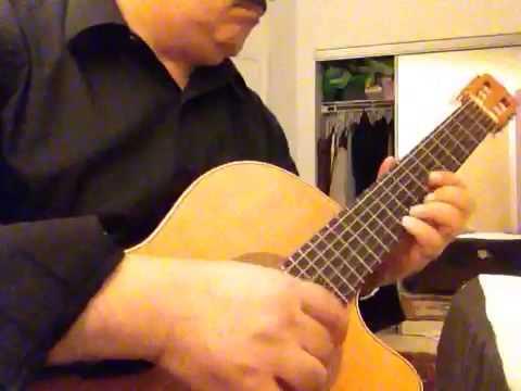 Khodaye Asemoonha Guitar Coverخدای آسمونها طوفان سولوی گیتار