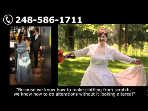 Wedding Gowns Designer, Alterations & Custom Design Womens Clothing