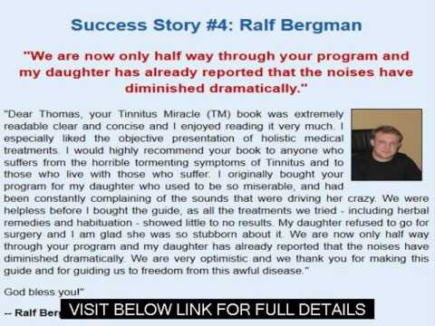 Tinnitus Miracle Ebook   Tinnitus Miracle Review Guide