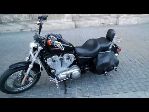 Google Glass Barcelona tourism with Harley Davidson