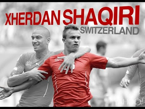 Xherdan Shaqiri  0 - 3 Honduras vs Switzerland 2014