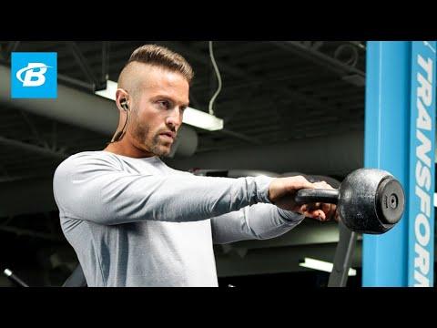 At-Home Kettlebell Workout | Mike Hildebrandt