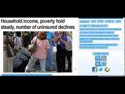 GGN: More Identifying as Lower Class, TVs & Cell Phones for the Poor, It's Us Not the Elites