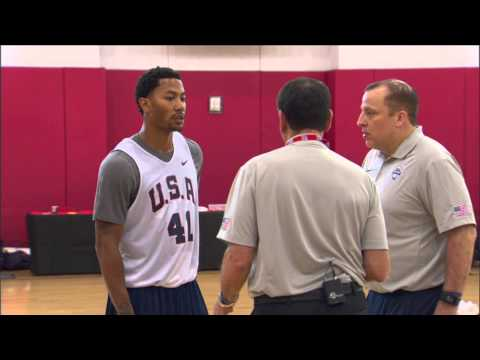 Wireless: USA Basketball Training Camp Day 1