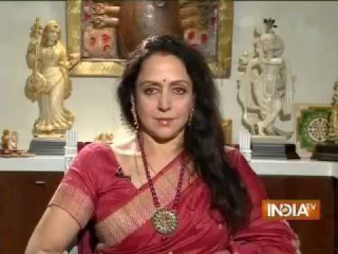 India TV Exclusive: Public Meeting with Hema Malini
