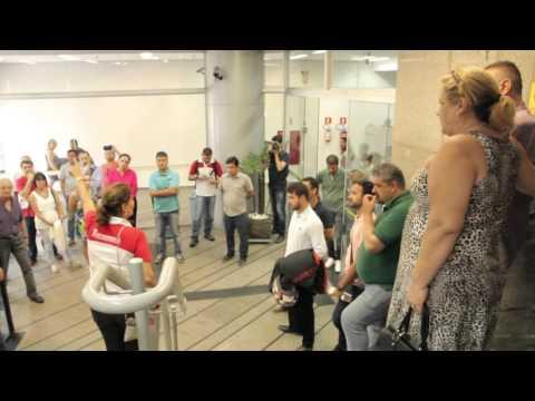 Bancários paralisam 10 agências do BB em Santos