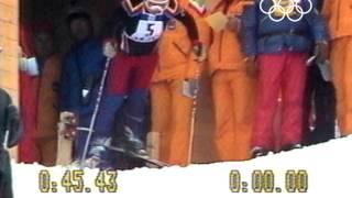 Underdog Rosi Mittermaier Amazing Ski Gold 1976