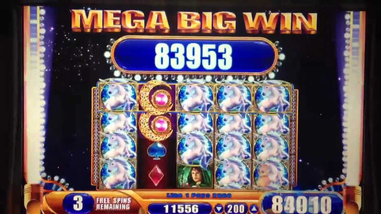 mystical unicorn wms slot machines to buy