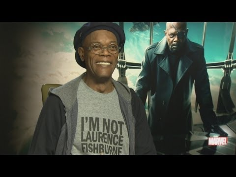 Captain America 2: Samuel L Jackson on being a badass
