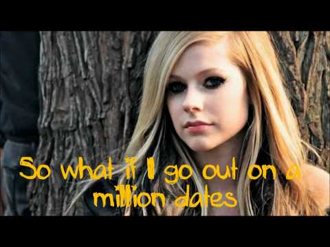 Avril Lavigne - What the Hell [Lyrics on screen] HD