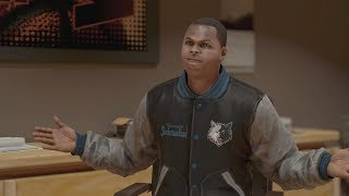 NBA 2K14 Next Gen My Career Fighting With The Coach