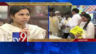 Akhila Priya reacts on her convoy attack; Ambati Rambabu c..