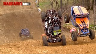 4 WIDE ROCK BOUNCER KNOCKOUT RACING IS INSANE. MadRam11 Багги Видео. Buggy Video.