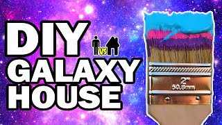 🎨 We Painted Our House Galaxy!!! Man Vs House Ep.#6