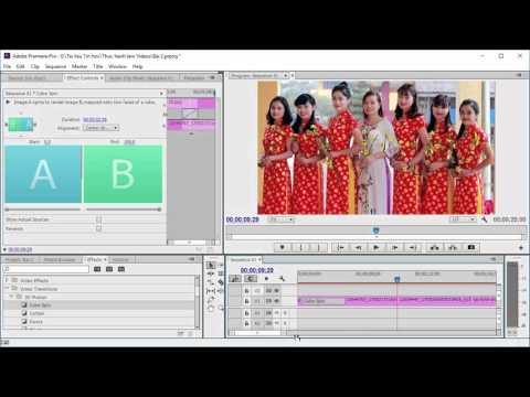 Adobe Premiere: Bài 2. Tạo Slide Show từ hình ảnh, Video và âm thanh