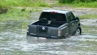 Nissan Titan Mudding