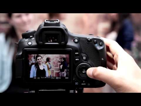 Canon EOS 60D Tutorial - Movie Mode 7/14