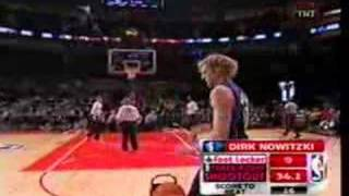 Dirk Nowitzki Three Point Contest R2