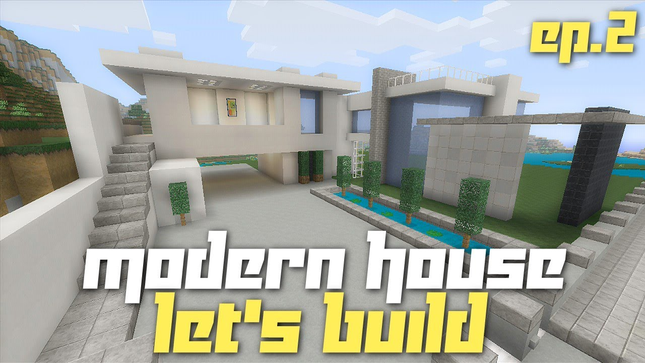 Minecraft xbox 360 let 39 s build a modern house city for Modern house minecraft xbox 360 edition