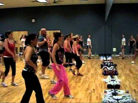 Zumba!!! Pitbull   Maldito Alcohol Mountainside Fitness Center Julie Beauchamp 10 01 10
