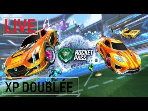 LIVE ROCKET LEAGUE - GAMEPLAY FR - WEEK-END XP DOUBLÉE !!!