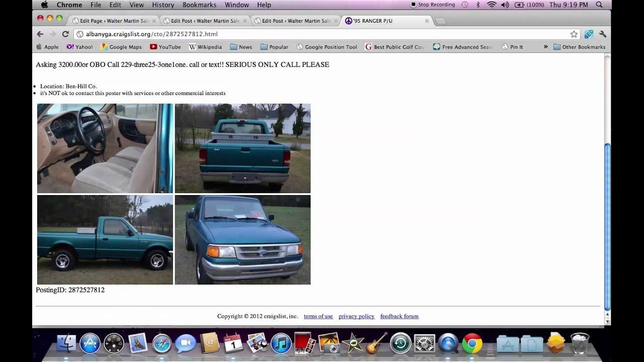 Craigslist Albany Autos Post