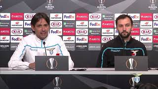 La conferenza stampa di mister Inzaghi alla vigilia di Sevilla-Lazio