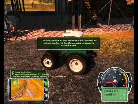 découverte exploitation agricole simulator pro 2014