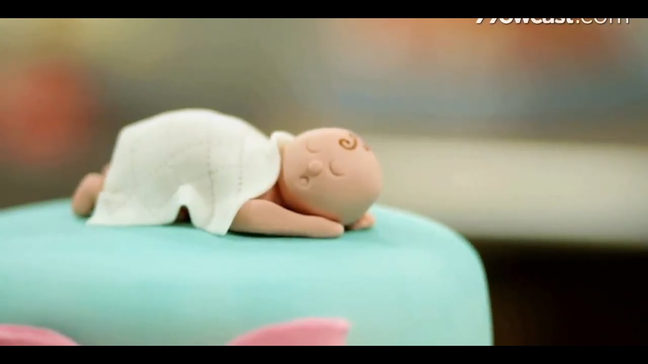 Baby Shaped Cake Images : How to Shape Baby Figurine from Fondant Cake Decorations ...