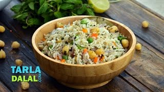 Chick Pea and Mint Rice..