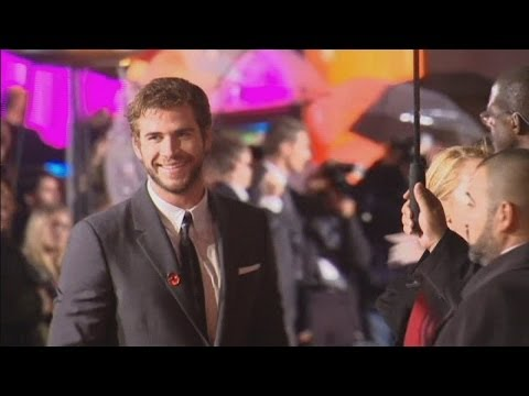 The Hunger Games: Catching Fire: Jennifer Lawrence, Liam Hemsworth and Josh Hutcherson interviews