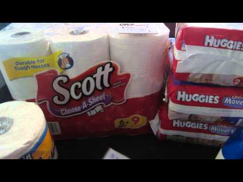 CVS Deals 8 25 2013 - CVS Haul Cheap Diapers, Shampoo & More!!
