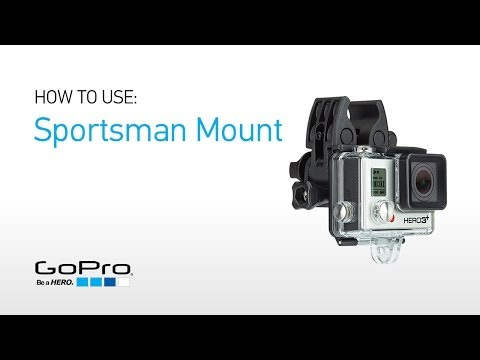 Sportsman Mount attaches GoPro to guns, rods, bows