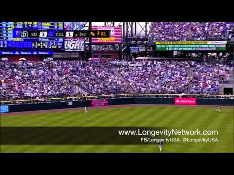 MLB Colorado Rockies Troy Tulowitzki uses Longevity's Rehab1000 | Pain Relief Cream