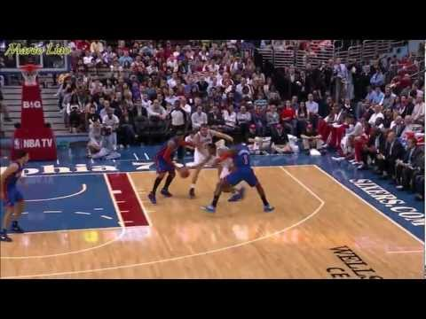 1080P Jeremy Lin 18pts FT10/10 Knicks vs 76ers 2012.3.21