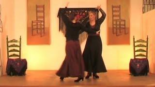 Aprende a bailar sevillanas. Parte 25