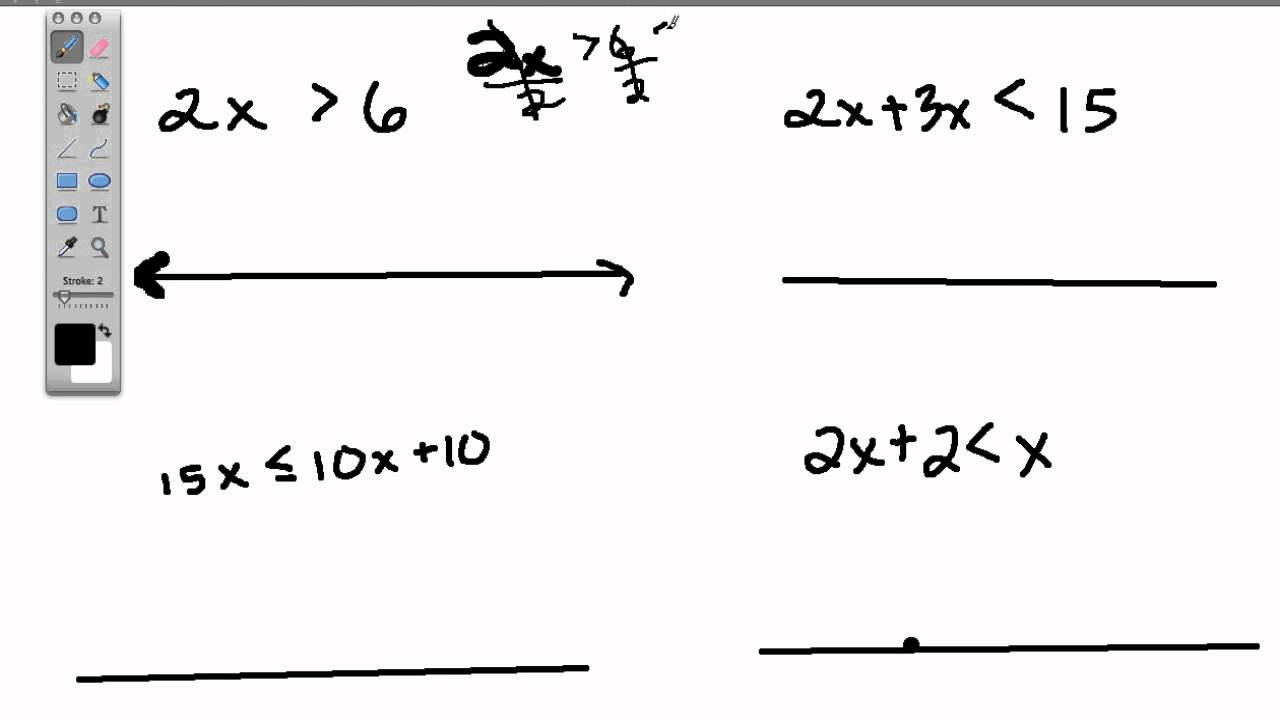 worksheet Graphing Inequalities On A Number Line Worksheet – Inequalities on a Number Line Worksheet