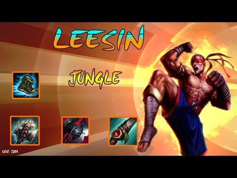 Leesin Jungle | Thánh bay nhảy | Gank lv MAX | Cách chơi và lên đồ | Liên Minh Huyền Thoại