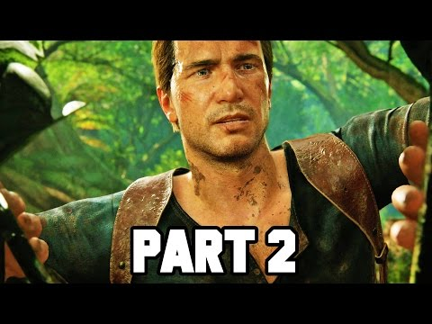 Uncharted 4 Gameplay Walkthrough Part 2 - Shoreline (PS4 Gameplay 1080p HD)