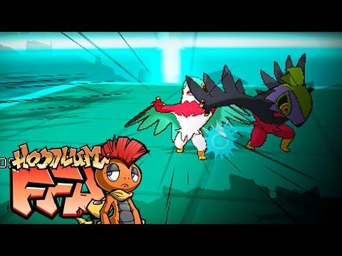 Pokémon X and Y Free For All: Vs SleepyJirachi Vs Hawluchamp Vs Vetrozity