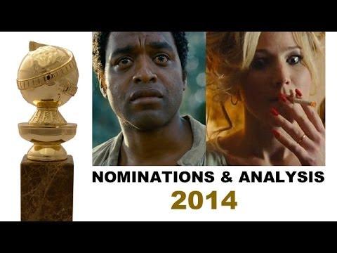 Golden Globes 2014 Nominations - Jennifer Lawrence, Michael Fassbender, Idris Elba