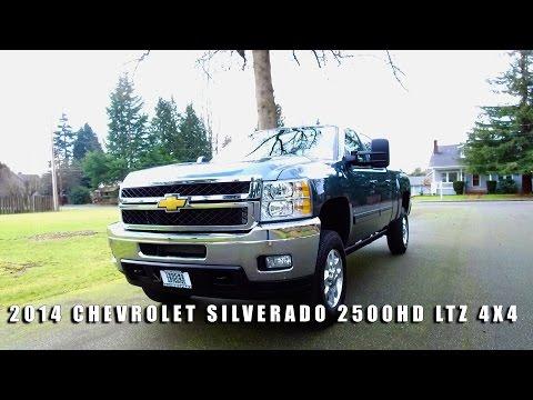 2014 CHEVROLET SILVERADO 2500HD LTZ 4X4