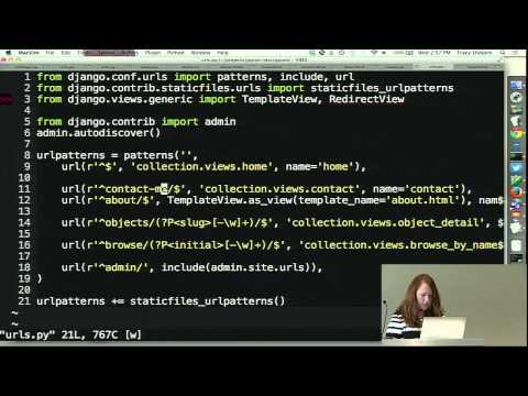 Image from Django for Web Designers and Front End Developers