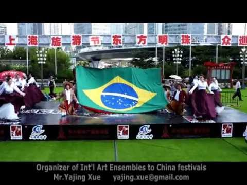 2013 Shanghai Tourism Festival - Brazil Folk Dance Group (GAS) 7