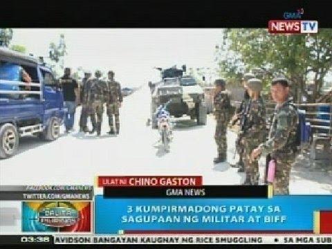 BP: 3 kumpirmadong patay sa sagupaan ng militar at BIFF sa Maguindanao