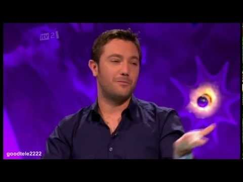 Gino D'acampo Shows Fearne Cotton The Radio One Position - Celebrity